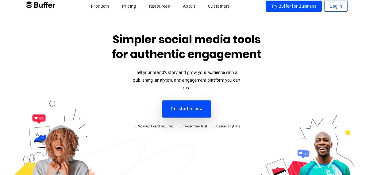 Social Media Scheduler - Buffer