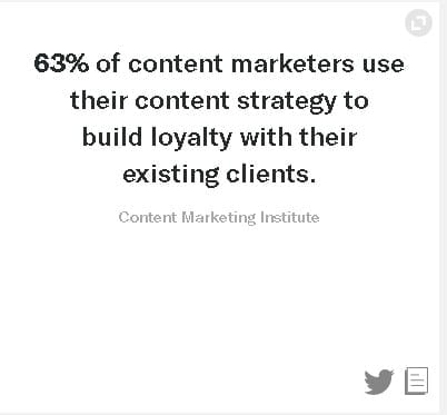 Content Marketing Benefits - You'll be boosting your brand loyalty