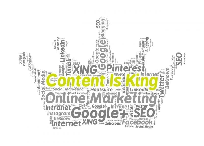 Content is king - there's no denying that.